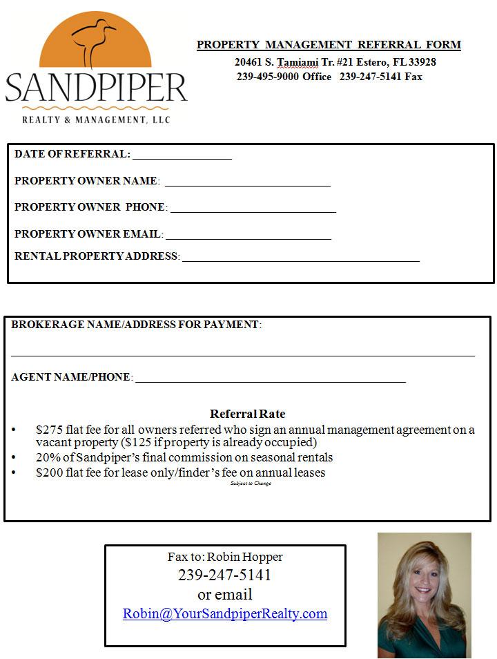 property management referral program sandpiper realty management llcsandpiper realty and. Black Bedroom Furniture Sets. Home Design Ideas